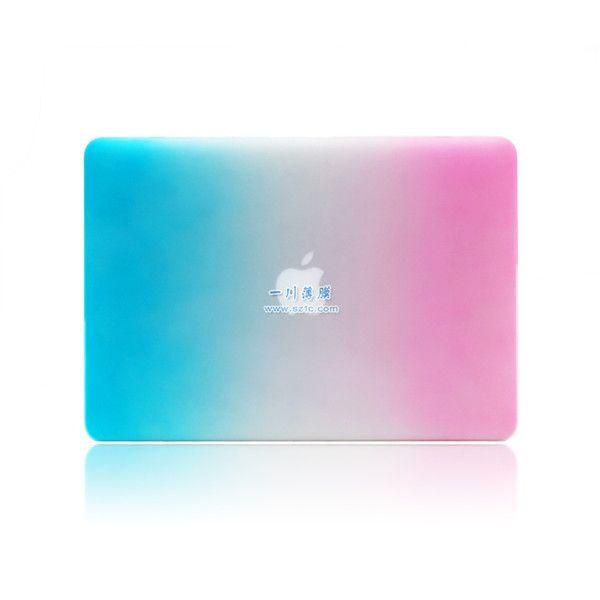 彩虹色苹果电脑保护套